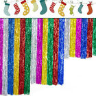 Shimmer Metallic Fringe Foil Tinsel Curtain Blind Room Wedding Party Decoration