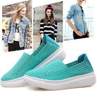 Fashion Summer Loafers Breathable Cusp Walking Sneaker Shallow Flange Shoes A