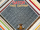 Crocodile fake leather Vinyl GATOR Fabric BY THE YARD IN 8 COLORS