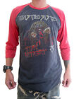 Twisted Sister Stay Hungry Concert Tour'84 Mens Raglan T-Shirt Jersey 100%Cotton