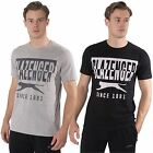 Slazenger Mens Sports T-shirt short Sleeve Crew Neck Graphic Tee Top Size S-XXL