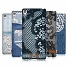 HEAD CASE DESIGNS JEANS AND LACES SOFT GEL CASE FOR SONY XPERIA XA