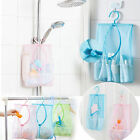 Laundry Hook Hanging Mesh Storage Bags Bathroom Kitchen Clothes Organizer Pouch