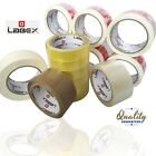 LABEX BROWN CLEAR FRAGILE MASKING PACKING PARCEL CELLO TAPE ROLL - BEST PRICE