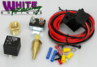 COOLING FAN RELAY WIRING HARNESS KIT w/THERMOSTAT # WPM-3101