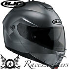 HJC IS-MAX 2 ANTHRACITE FLIP UP FRONT MOTORCYCLE MOTORBIKE BIKE TOURING HELMET
