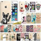 Patterned Soft Gel Characters Floral Animal Print Case For Iphone 6 6S / 5 5S 5E
