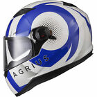Agrius Rage SV Warp Motorcycle Helmet Full Face Scooter Motorbike Crash Bike Lid