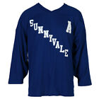 Trailer Park Boys Bubbles 99 Sunnyvale Licensed Adult Hockey Jersey - Royal Blue