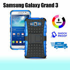 TPU Case Cover For Samsung Galaxy Grand 3 max G7200 Heavy Duty With Kickstand