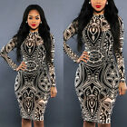 Sexy Women Slim Bodycon Bandage Wiggle Evening Cocktail Party Pencil Dress New