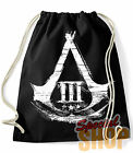 "MOCHILA / BOLSA  ""ASSASINS CREED III""GAMES  BAG/BACKPACK"
