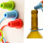Home Kitchen Silicone Wine Beer Bottle Cap Stopper Plug Bar Tools with 3 Colors