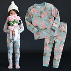 "NWT Vaenait Baby Infant Toddler Kids Girls Clothes Pyjama Set ""Vivichu"" 12M-7T"