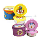 Pororo Stainless Steel Bento Round Lunch box bento Food Storage Bag Set