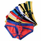 Men Cotton Underwear Boxer Briefs Shorts Bulge Pouch Soft Underpants S/M/L/XL
