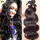 US SELLER Brazilian 100% Unprocessed Virgin Remy Human Hair Weave Body-Wave V80