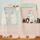 Hot luxury Cartoon cute minions Moomin Tempered Glass Film for iphone 7 6S plus