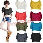 New Casual Loose Batwing Short Sleeve Women's T-Shirts Tank Tops & Blouses