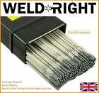 Weldright ER316L Stainless Steel Arc Welding Electrodes Rod 1.6-3.2mm 10-100 Rod