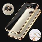 Slim Crystal TPU Phone Case Cover for Samsung S7 Edge / iPhone 6 6S 7 Plus