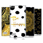 OFFICIAL HAROULITA BLACK AND GOLD SOFT GEL CASE FOR BLACKBERRY PHONES