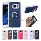 For Samsung Galaxy S7 G9300 PU Leather TPU Case Cover Ring Stand Luxury Popular