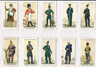 PLAYERS UNIFORMS OF THE TERRITORIAL ARMY 1939 INDIVIDUAL CARDS