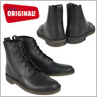 Clarks Originals Desert Mali Men's Premium Leather Boots Style 34364 Black(M)