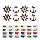 Anchor Nautical Clipart Sticker for Car Window Wall Laptop party decor Envelope
