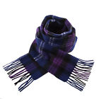 Heritage of Scotland 100% Lambswool Popular Scottish Tartans Super Soft Scarf