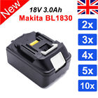 New 18V 3.0Ah Lithium Ion Battery Replace For Makita LXT BL1830 BL1840 Drill