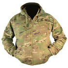 UTP-URBAN TERRAIN PATTERN CAMO COTTON/POLYESTER FLEECE LINED ZIPPED HOODIE,ARMY