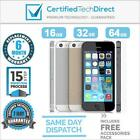 Apple iPhone 5S 16GB 32GB 64GB *Used *100% Functional *6 Month Warranty