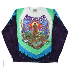 New GRATEFUL DEAD Watch Tower Long Sleeve Tie Dye T Shirt