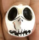 JACK NIGHTMARE BEFORE CHRISTMAS 925 SILVER RING HALLOWEEN STERLING NEW