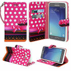 For ZTE Sonata 3 / Maven 2 / Prestige / Avid Plus Leather Wallet Case Flip Cover