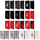 LIVERPOOL FC LFC CREST 1 LEATHER BOOK WALLET CASE FOR SAMSUNG GALAXY TABLETS