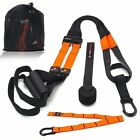 Suspension Straps Resistance Exercise Training Home Gym Workout Crossfit
