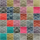 """Lace Fabric Floral Shaped 60"""" Wide Mesh Embroidery Bridal Many colors Available!"""