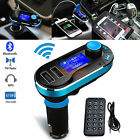 Bluetooth Handsfree FM Transmitter Car Kit Radio MP3 Player USB Charger & AUX
