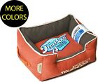 Original Sporty Vintage Reversible Plush Rectangular Designer Pet Dog Bed Beds