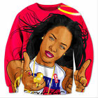 New Fashion Mens/Womens Aaliyah 3D Print Casual Sweatshirt Hoodies ZH1