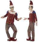 Smiffy's Mens Possessed Punch Scary Puppet Show Halloween Fancy Dress Costume