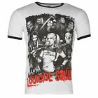 Suicide Squad T-Shirt Mens White/Black Top Tee Shirt