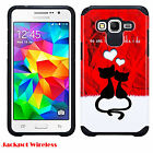 Hybrid ShockProof Hard Armor Case Cover For Samsung Galaxy Grand Prime G530