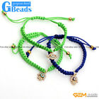 "Hand-Woven Jewelry Turkey Evil Eye Style Bracelet 7"" Adjustable Free Shipping"