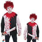 Christys Dress Up Adults Evil Clown Wig Shirt OR Weapon Halloween Costume