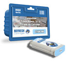 COMPATIBLE PITNEY BOWES CYAN 787-D FRANKING MACHINE INK CARTRIDGE