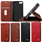 Luxury Hybrid ShockProof Wallet Leather Stand Case Cover for iPhone 7 7Plus